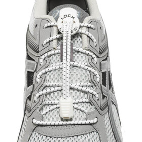 Lock Laces Run white